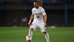 Lukas Podolski kickt seit zweieinhalb Jahren in Japan