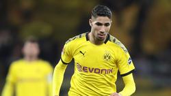 BVB-Ass Achraf Hakimi ist der schnellste Spieler der Bundesliga