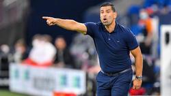 Dimitrios Grammozis spielt mit dem FC Schalke in Kiel