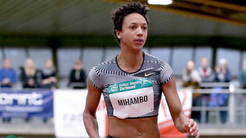 Mihambo startete über 60 Meter