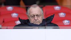 Olympique Lyons Präsident Jean-Michel Aulas ist enttäuscht