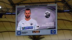 Dennis Diekmeier verdarb dem HSV mit dem SV Sandhausen den Aufstieg