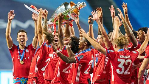 Der FC Bayern München ist Mannschaft des Jahres in Deutschland