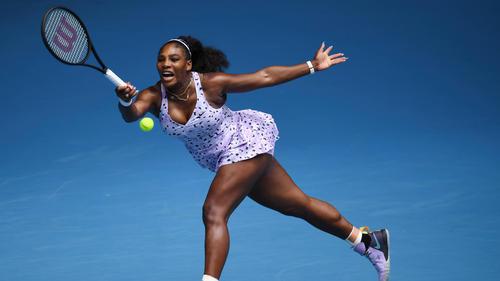 Serena Williams setzte sich gegen Tsvetana Pironkova durch