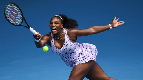 Eine Runde weiter: Serena Williams