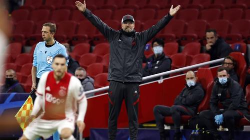Jürgen Klopp gewann mit seinem FC Liverpool knapp in Amsterdam