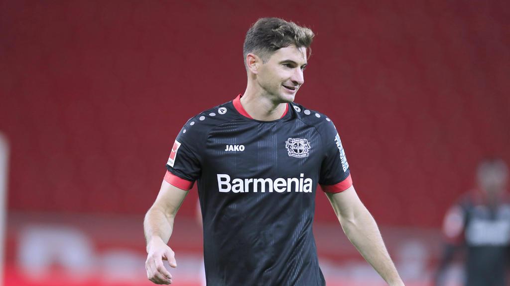 Lucas Alario schoss Bayer Leverkusen zum Sieg gegen den FC Augsburg