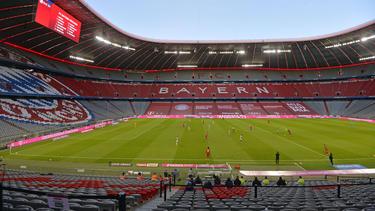 Die Allianz Arena des FC Bayern bleibt vorerst leer