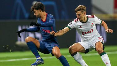 Atlético Madrid und Lokomotive Moskau teilten sich die Punkte