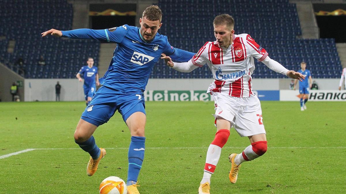 Jacob Bruun Larsen (l.) spielte einst für den BVB