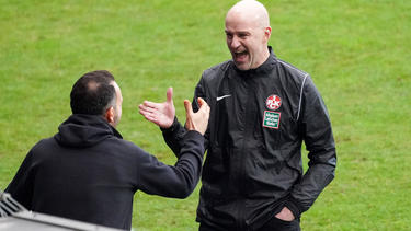 Trainer Marco Antwerpen feierte beim 1. FC Kaiserslautern ein erfolgreiches Debüt