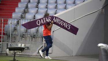 Qatar Airways ist Sponsor des FC Bayern