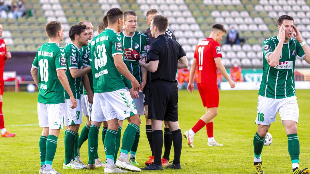 Der VfB Lübeck steigt ab