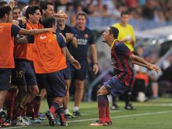 Fällt für die Champions League aus: Adriano (r)