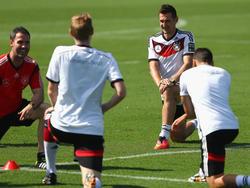 Miroslav Klose bereitet sich immer vor, als würde er beginnen