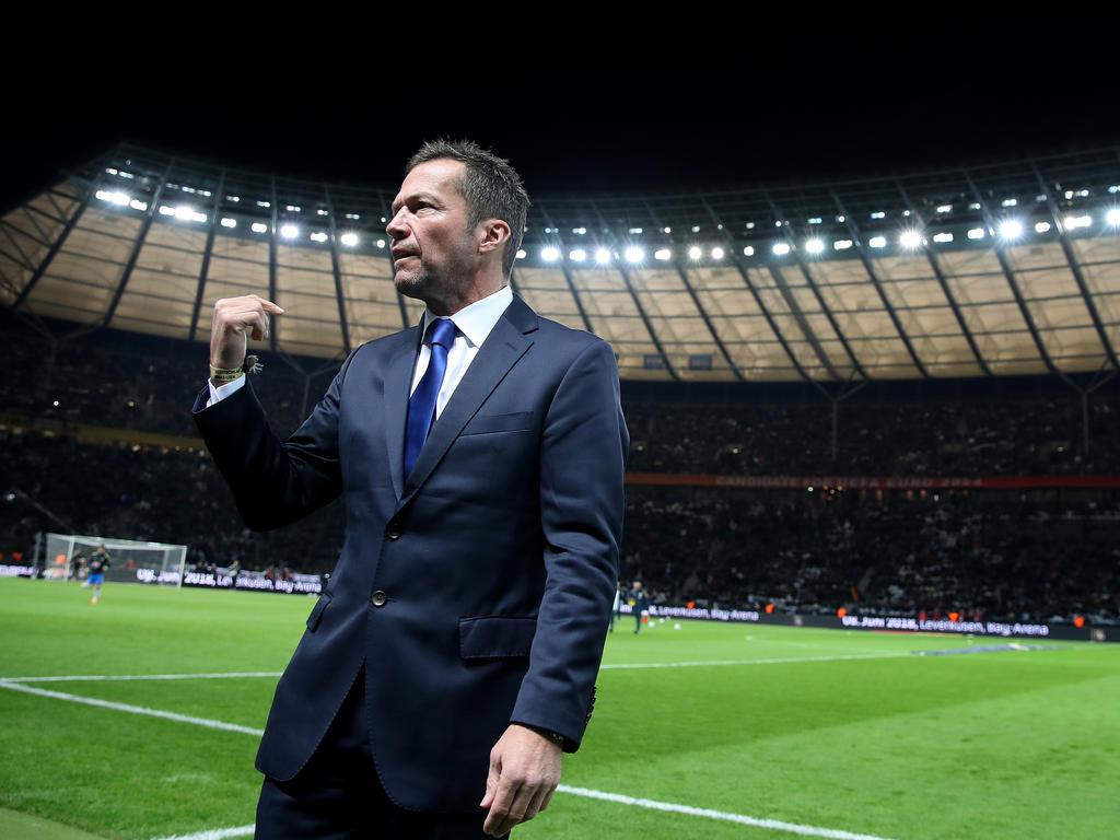 Ein Mann klarer Worte: Lothar Matthäus