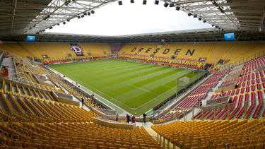 Das Rudolf-Harbig-Stadion in Dresden