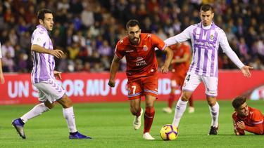 Borja Iglesias anotó el tanto del Espanyol. (Foto: Imago)