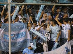 Fans de Atlético Tucumán en las gradas. (Foto: Imago)