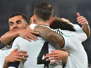 Sergio Ramos (M.) traf zum vorentscheidenden 3:1