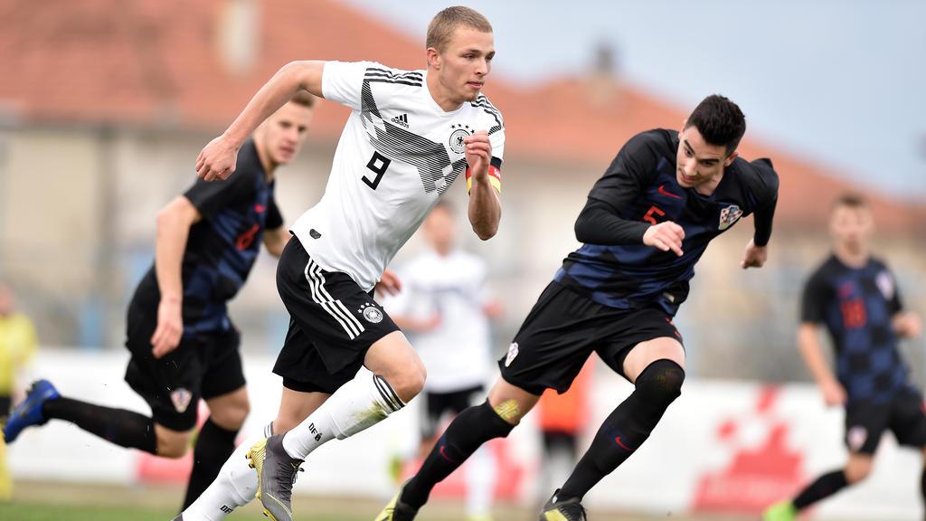 HSV-Star Jann-Fiete Arp feierte ein Erfolgserlebnis