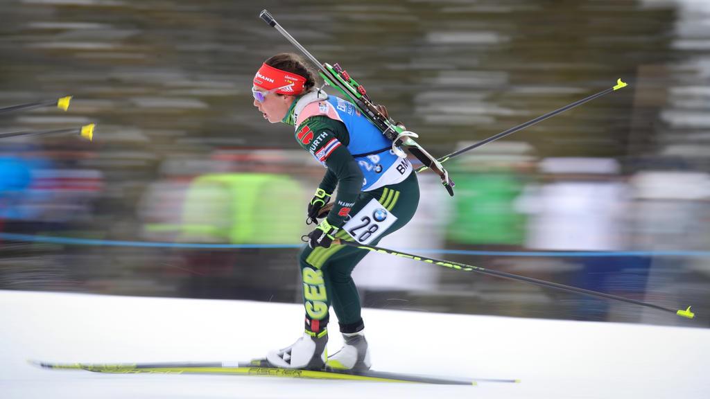 Laura Dahlmeier verpasst WM-Medaille im Einzel