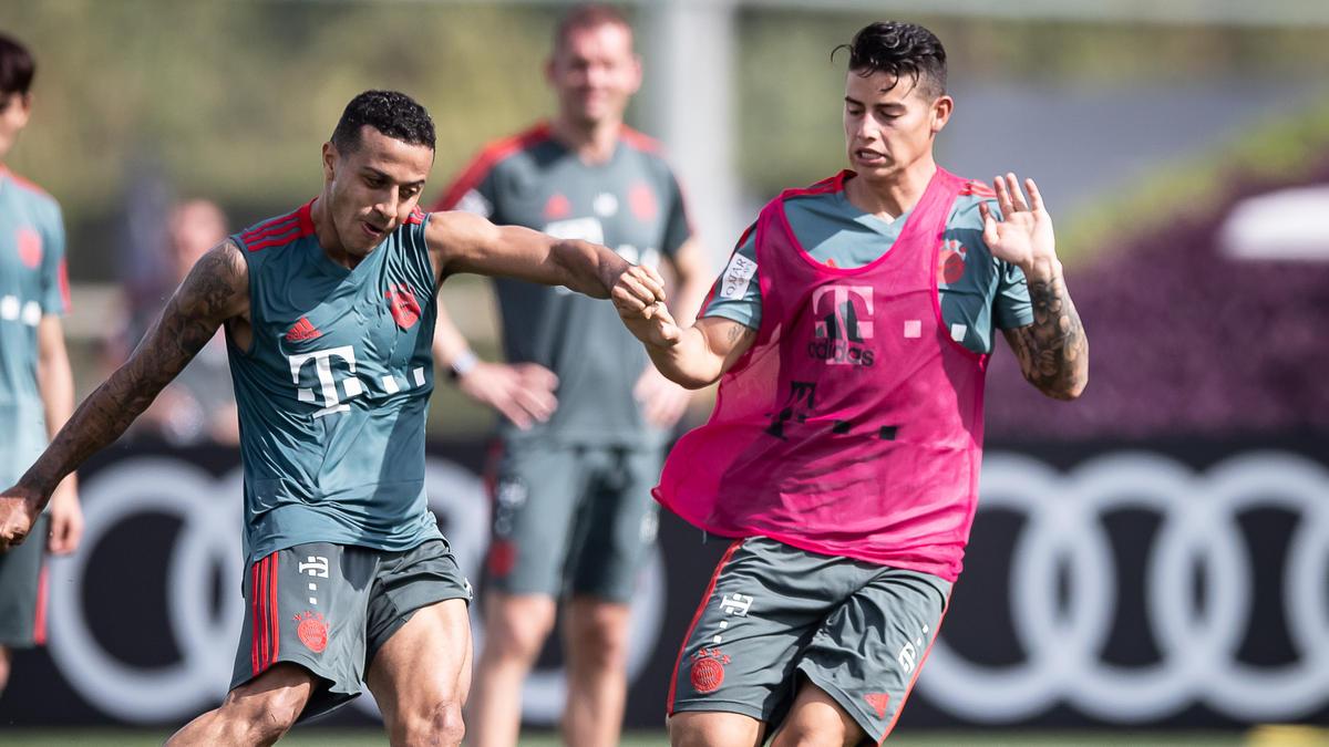 PSG will offenbar Thiago und James Rodríguez vom FC Bayern verpflichten
