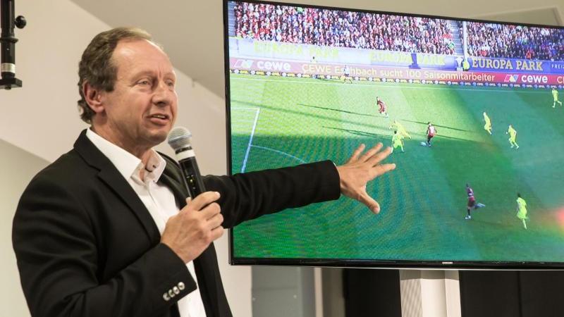 Befürwortet die Einführung einer Zeitstrafe im Fußball: Der ehemalige Schiedsrichter Hellmut Krug