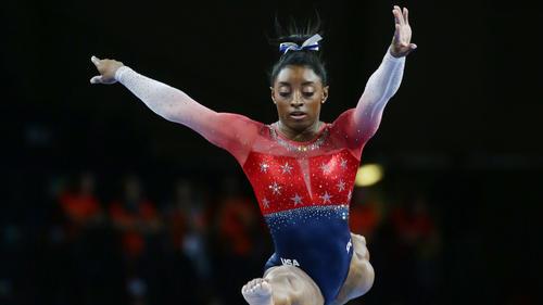 Simone Biles wurde als beste Sportlerin ausgezeichnet