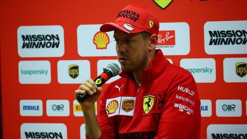Derzeit nicht zufrieden: Sebastian Vettel