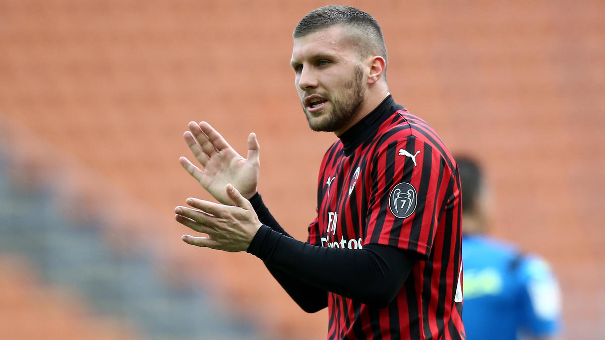 Ante Rebic ist noch bis 2021 von Eintracht Frankfurt nach Mailand ausgeliehen