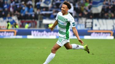 Jamie Leweling steht beim FC Schalke offenbar hoch im Kurs