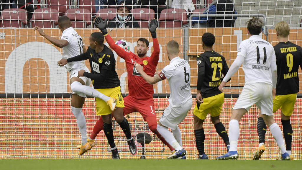 Borussia Dortmund verliert beim FC Augsburg