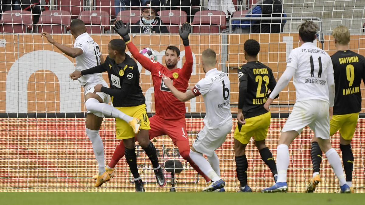 Borussia Dortmund verliert deutlich beim FC Augsburg