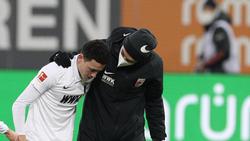 Verletzte sich gegen den FC Bayern: Ruben Vargas
