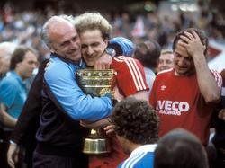Bayern holt nach Thriller den Pokal 1984