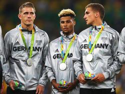 Die Freude über die Silber-Medaille war zuerst verhalten