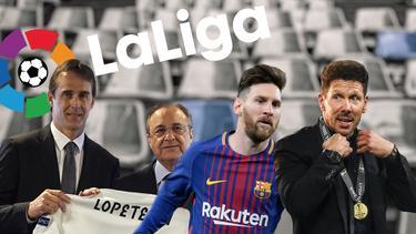 Primera División: Real Madrid, Atlético Madrid und der FC Barcelona im Check