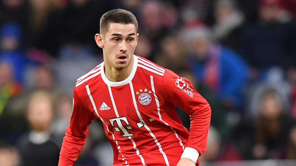 Meritan Shabani erzielte den Führungstreffer für die Bayern-Bubis