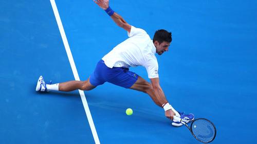Djokovic steht im Achtelfinale der Australian Open