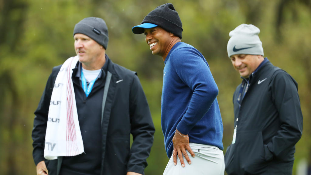 Tiger Woods hat noch richtig Spaß und noch einiges vor