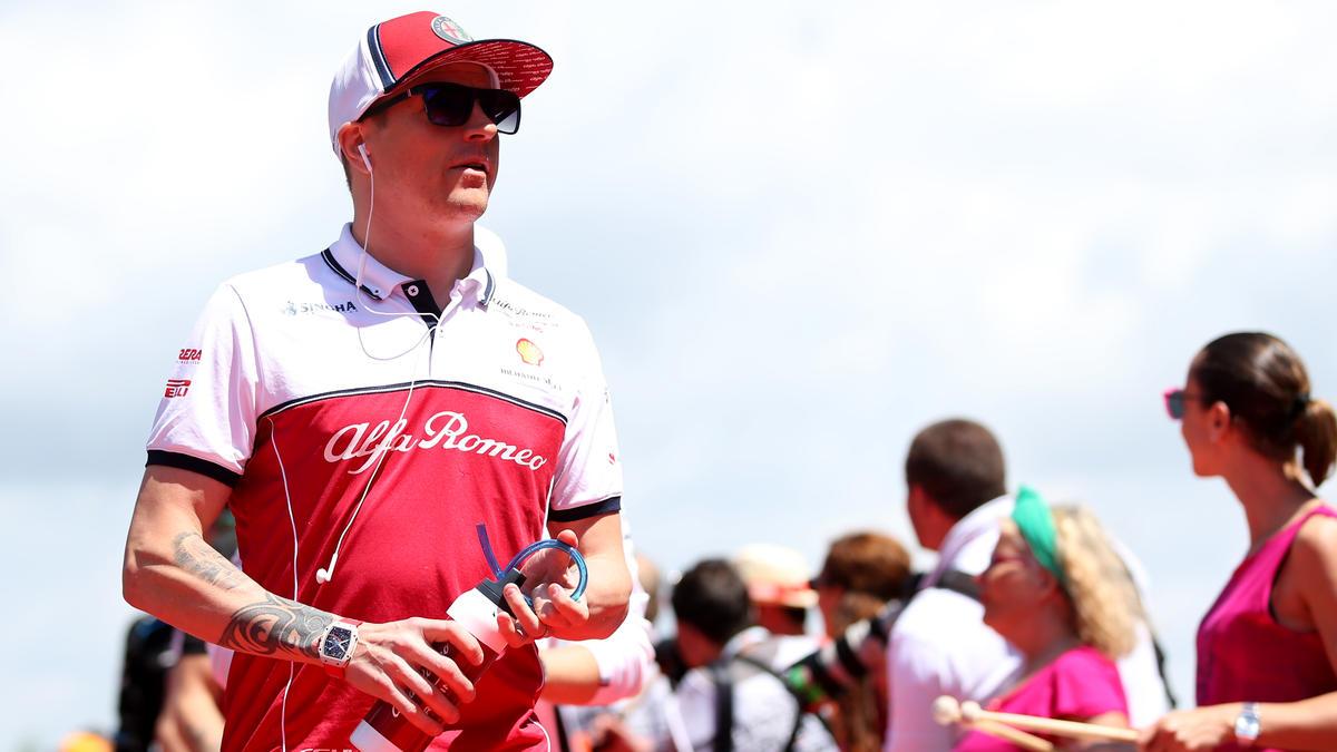 Kimi Räikkönen steht vor seinem Jubiläums-GP
