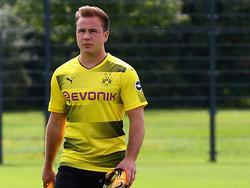 Mario Götze con la camiseta del Borussia Dortmund. (Foto: Getty)