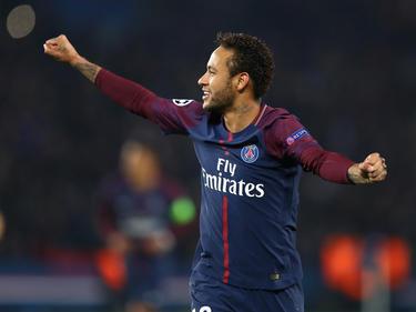 Neymar erzielte das 1:0 für Paris