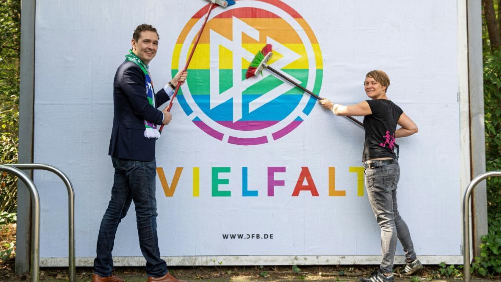 Der DFB hat ein Zeichen für Vielfalt im Fußball gesetzt