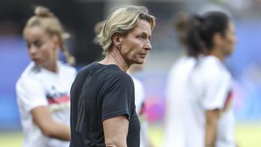 Vor Bundestrainerin Martina Voss-Tecklenburg liegt jede Menge Arbeit