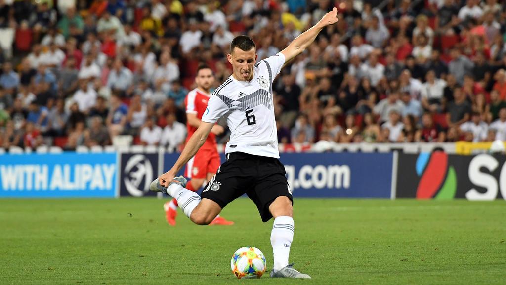 Maximilian Eggestein schnupperte zuletzt erste Luft in der Nationalmannschaft