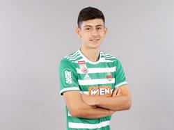 Yusuf Demir debütierte im Auswärtsspiel gegen die Admira für Rapid