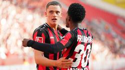 Bayer Leverkusens Shootingstar: Wohin geht die Reise von Florian Wirtz (l.)