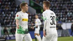 Matthias Ginter (l.) und Nico Elvedi sind Gladbachs wichtigste Abwehrstützen